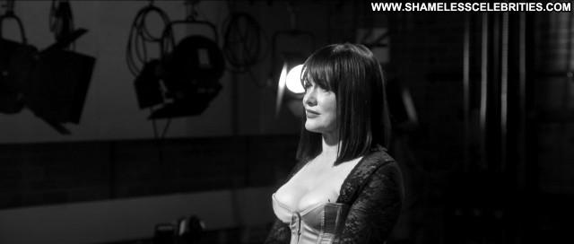 Dina Panozzo Black White Sex Cleavage Celebrity Underwear Sex Breasts