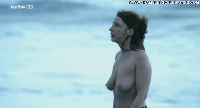 Lola Naymark Au Nom Du Fils Topless Celebrity Big Tits Breasts Beach
