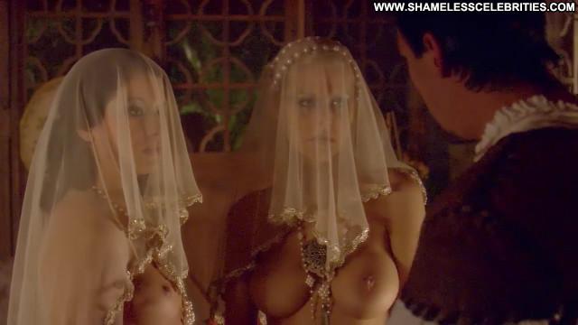 Michele Mcgrath The Tudors Topless Celebrity Breasts Irish Wedding