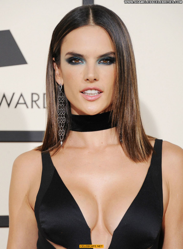 Alessandra Ambrosio Grammy Awards Babe Awards Celebrity Sex Posing