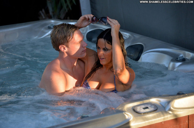 Claudia Romani The Candid Hot Beautiful Babe Lingerie Model Celebrity