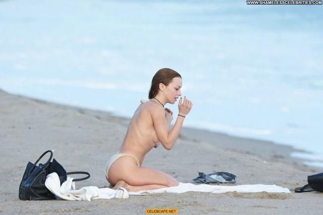Francesca Eastwood The Beach In Malibu Toples Malibu Topless