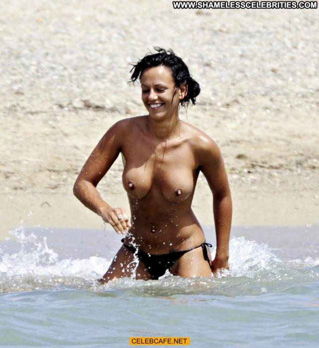 Nereida Gallardo No Source Babe Beach Topless Posing Hot Toples