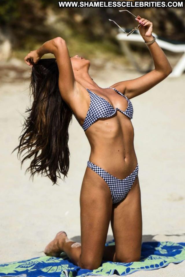 Shelby Tribble The Beach Beautiful Posing Hot Paparazzi Bikini
