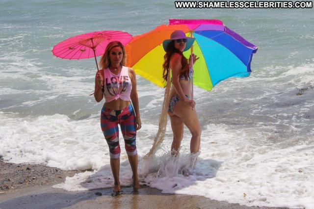 Alena Vodonaeva The Beach In Malibu Celebrity Latin Beach Babe Videos