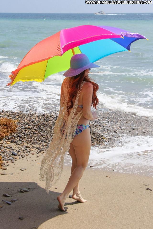 Alena Vodonaeva The Beach In Malibu Legs Latina Bikini Babe Latin