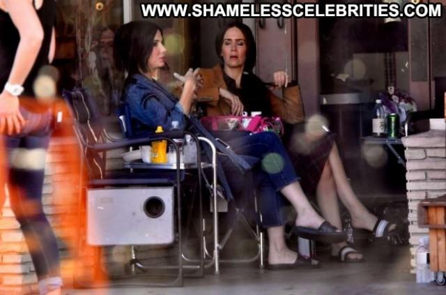 Sandra Bullock Los Angeles Beautiful Celebrity Babe Los Angeles