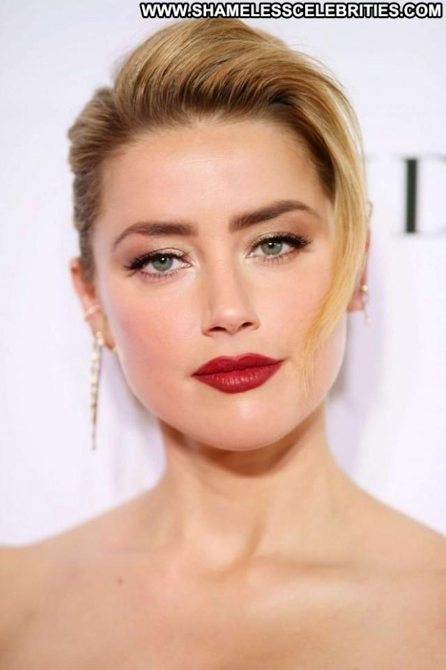 Amber Heard Glamour Women Posing Hot Celebrity Paparazzi Babe