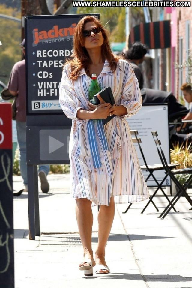Eva Mendes Los Angeles Babe Paparazzi Angel Celebrity Posing Hot