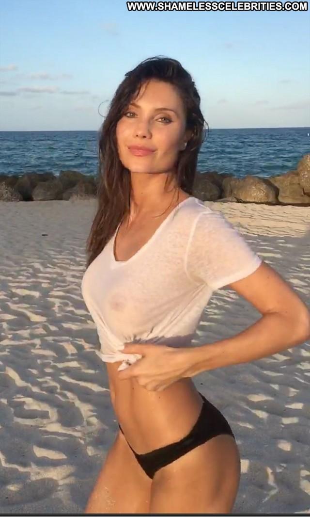 Julia Pereira The Beach Swimsuit Celebrity Beautiful Brazil See