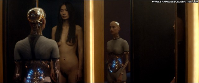 Sonoya Mizuno Ex Machina Nude Celebrity Full Frontal Bush Posing Hot