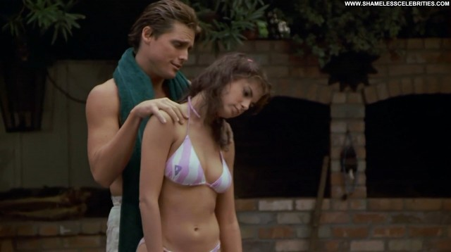 Joyce Hyser Just One Of The Guys Boobs Nice Bikini Celebrity