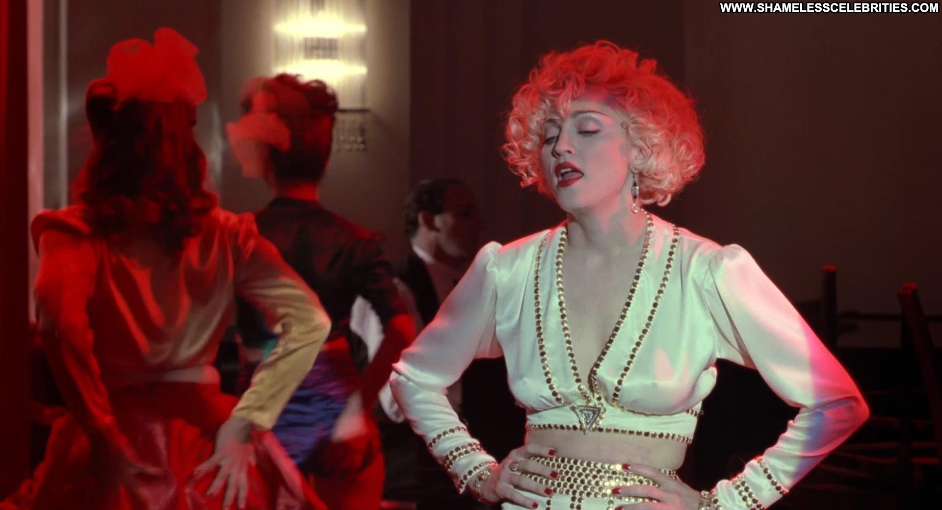 Madonna peach ice cream dick tracy