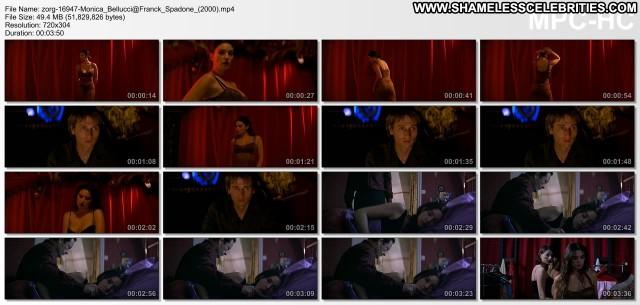 Monica Bellucci Franck Spadone Posing Hot Hot Sexy Celebrity