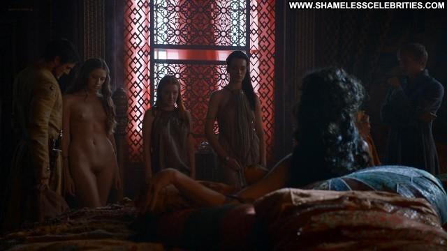 Josephine Gillan Game Of Thrones Nude Actress Celebrity Topless Full