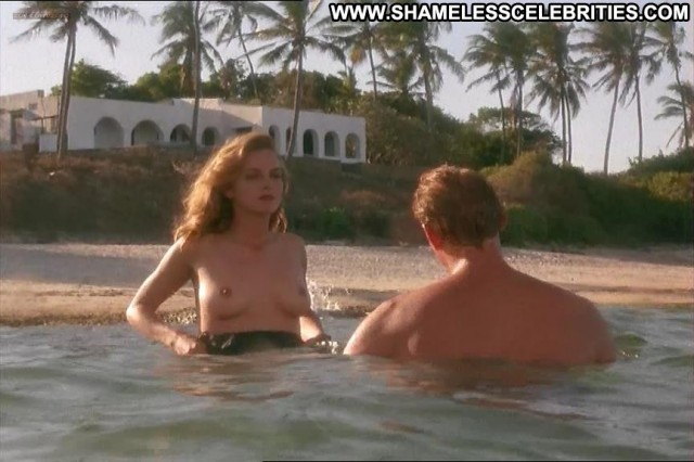 Greta Scacchi White Mischief Topless Celebrity Nude Posing Hot Hot