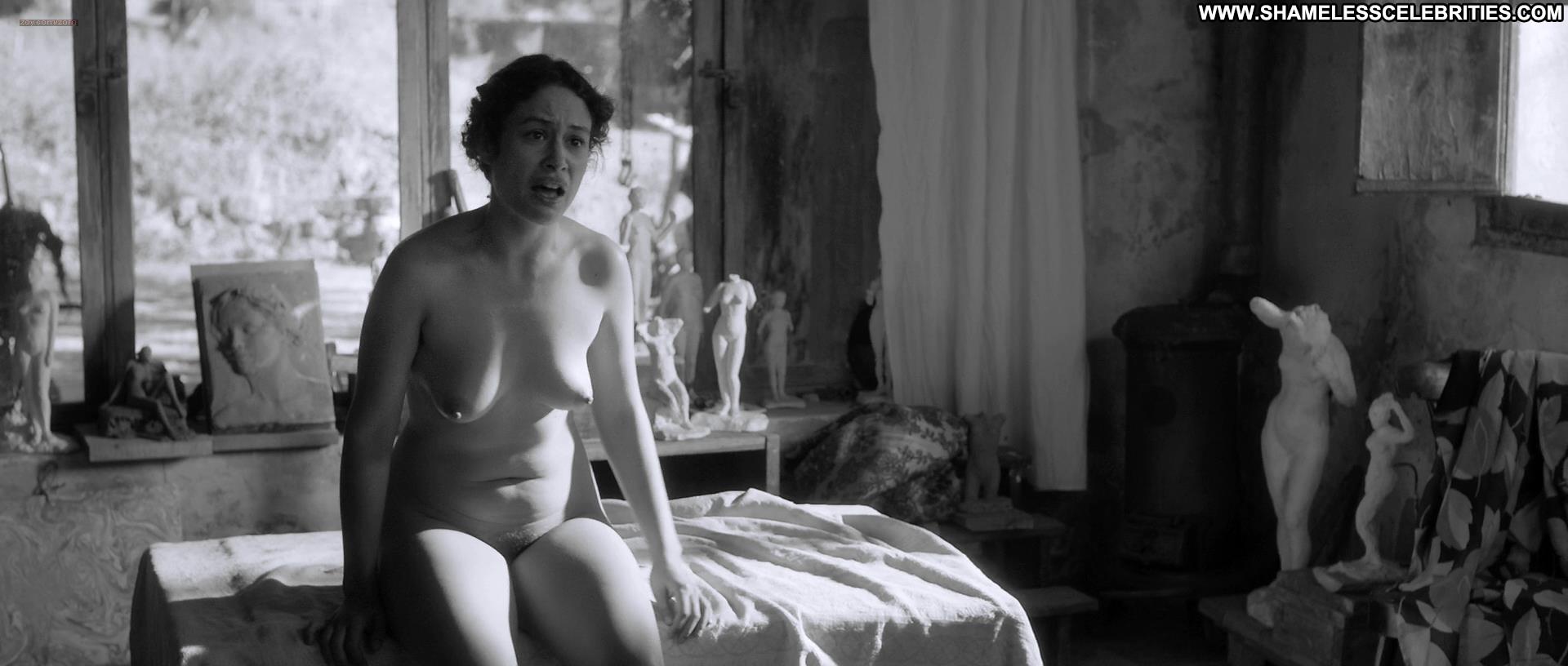 image Artist and the model lesbian scene