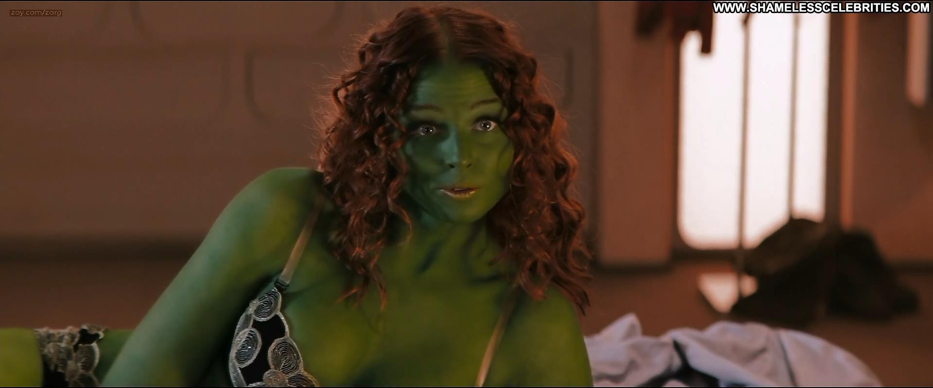 Zoe Saldana Rachel Nichols Star Trek Celebrity Posing Hot Hot