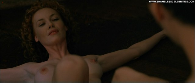 Charlize Theron The Devils Advocate Bush Topless Full Frontal Boobs