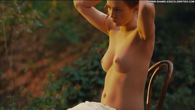 Christa Theret Renoir Posing Hot Celebrity Topless Movie Stunning