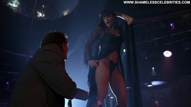 Barbara Alyn Woods Striptease Posing Hot Celebrity Nude Stripping