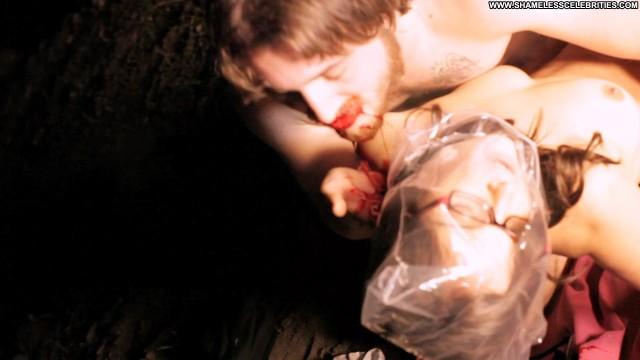 Jodi Balfour Vampire Nude Topless Posing Hot Celebrity