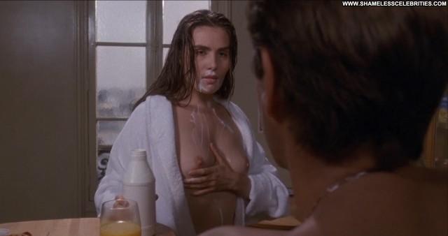 Emmanuelle Seigner Bitter Moon Milk Movie Topless Posing Hot