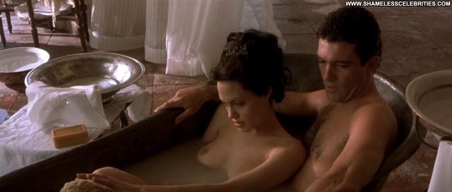 Angelina Jolie Original Sin Hot Nude Posing Hot Celebrity Sex