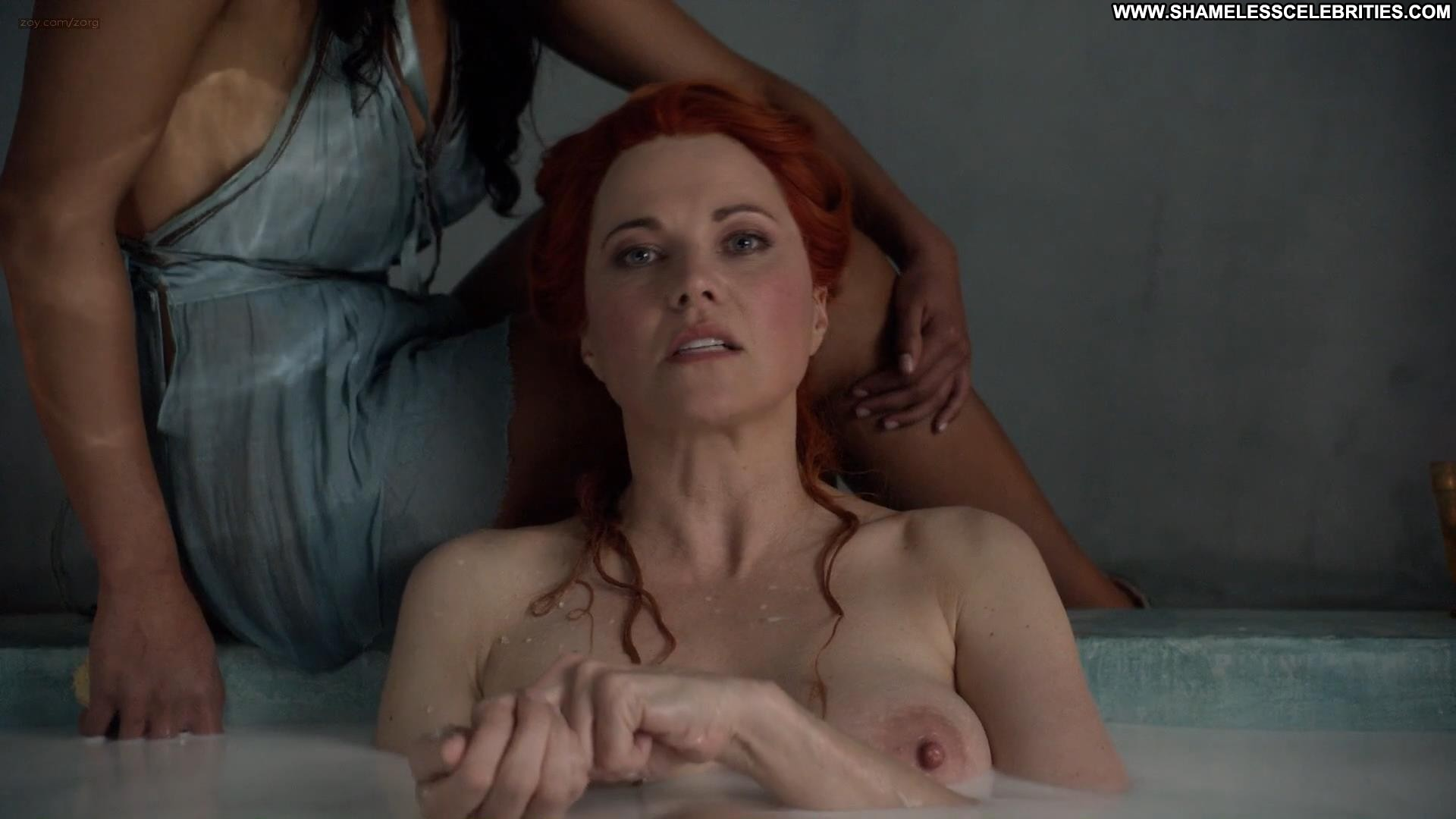 image Lucy lawless amp jaime murray threesome sex in spartacus serie