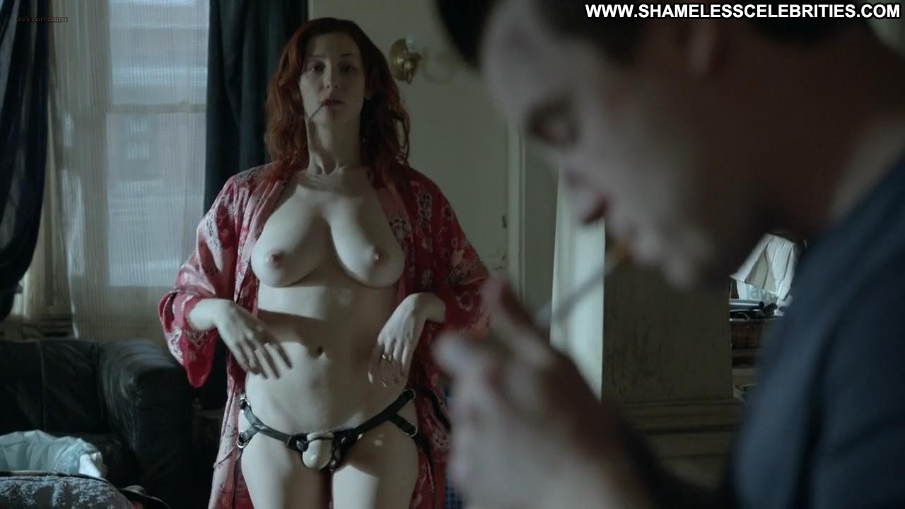 who is redhead topless camp shameless
