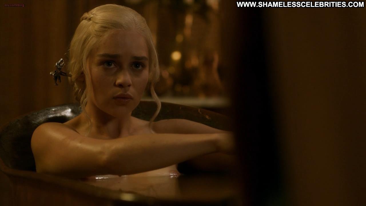 Emilia clarke nude on stage 1