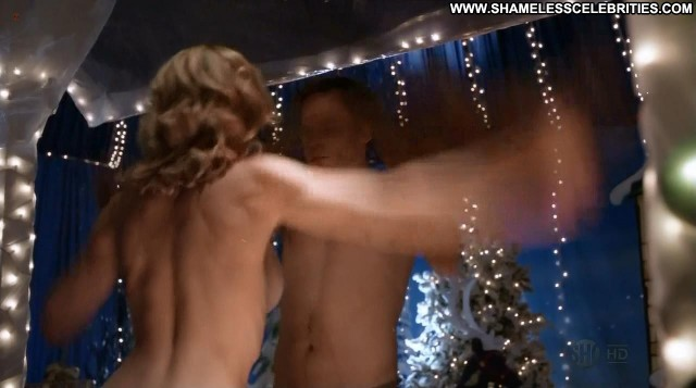 Yvonne Strahovski Dexter Stripper See Through Full Frontal