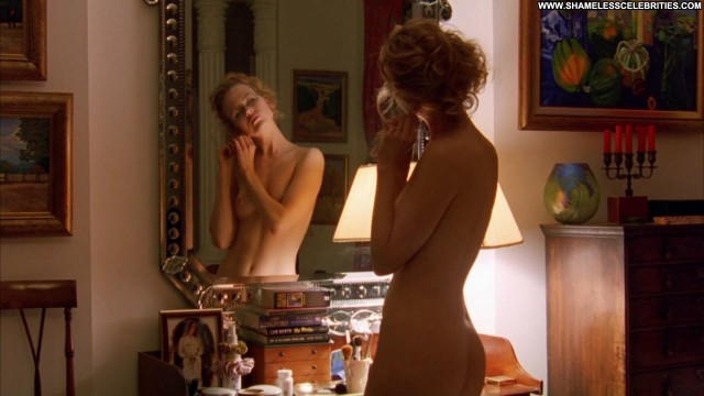 Nicole Kidman Eyes Wide Shout Posing Hot Nude Topless Celebrity Sexy