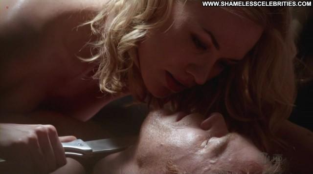 Yvonne Strahovski Dexter Videos Topless Stripper Full Frontal Bush
