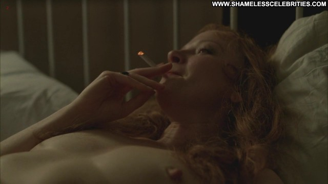 Gretchen Mol Boardwalk Empire Posing Hot Bed Celebrity Nude Wild