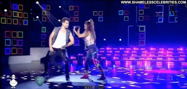 Lourdes Sanchez Tv Show Dancing Babe Posing Hot Sexy Celebrity