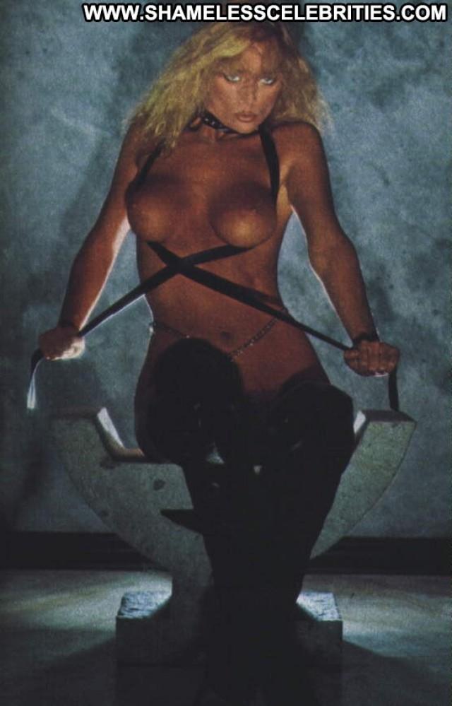 Sybil Danning Playboy Photoshoot Posing Hot Celebrity Babe Beautiful