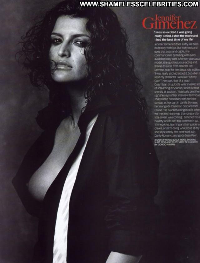 Jennifer Gimenez Sharpes Honour Beautiful Celebrity Babe Posing Hot