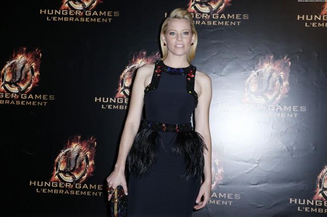 Elizabeth Banks The Hunger Games Paris High Resolution Babe Celebrity