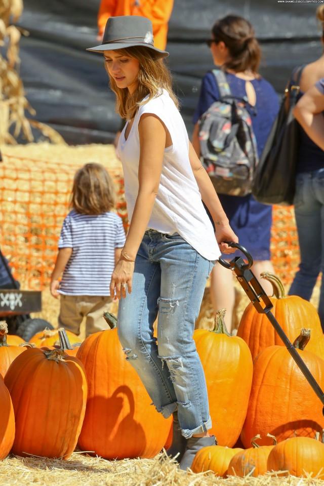 Jessica Alba West Hollywood Beautiful Celebrity Posing Hot High