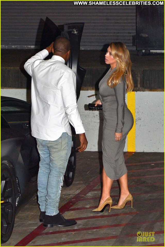 Kim Kardashian West Hollywood Beautiful Posing Hot Celebrity