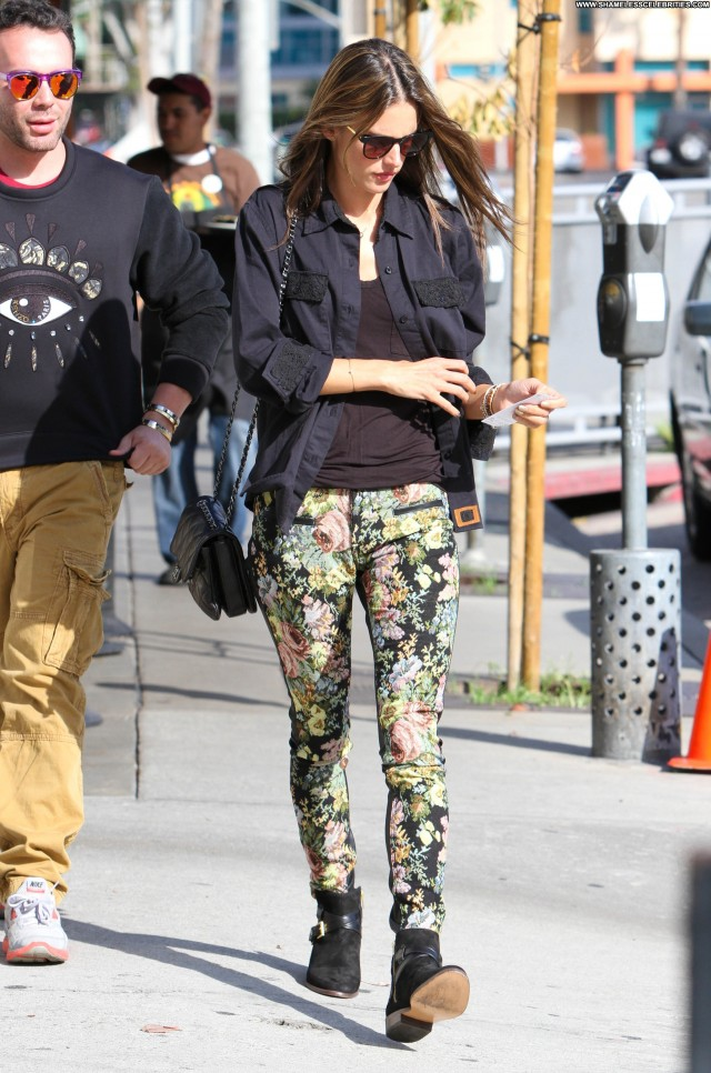 Alessandra Ambrosio Los Angeles Los Angeles Babe Celebrity Beautiful