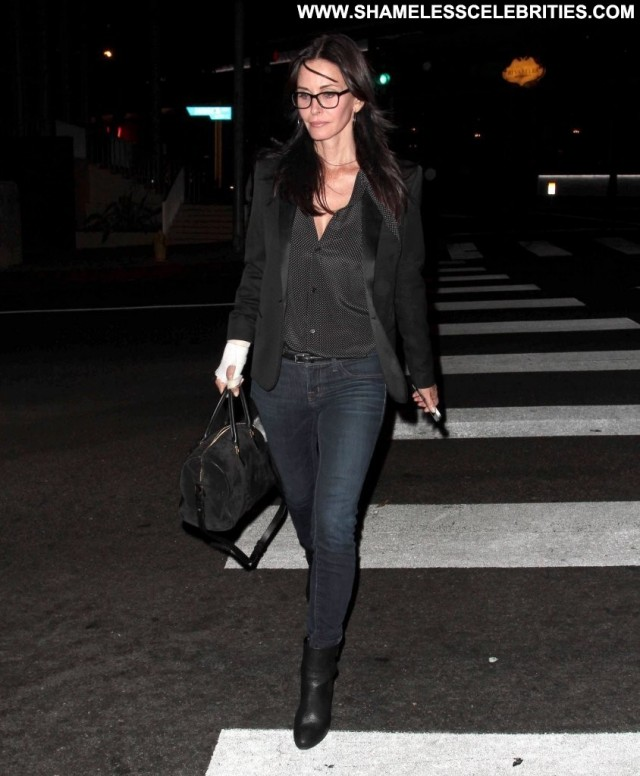 Courteney Cox West Hollywood Babe Posing Hot High Resolution West