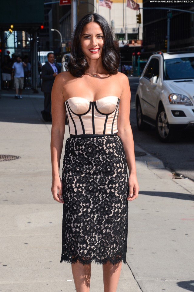 Olivia Munn Late Show With David Letterman Babe Candids High