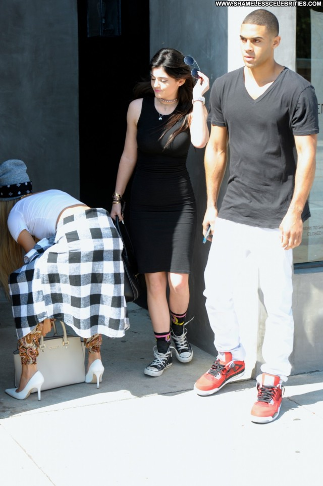 Kylie Jenner Los Angeles Candids Beautiful Babe Posing Hot High