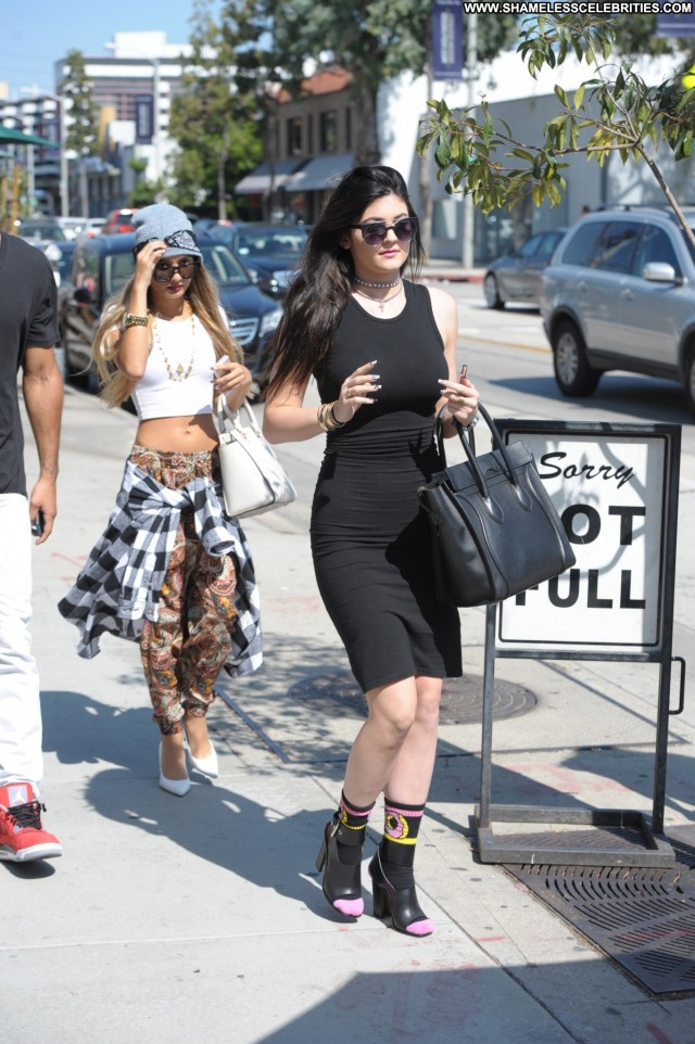 Kylie Jenner Los Angeles Posing Hot Babe Celebrity High Resolution