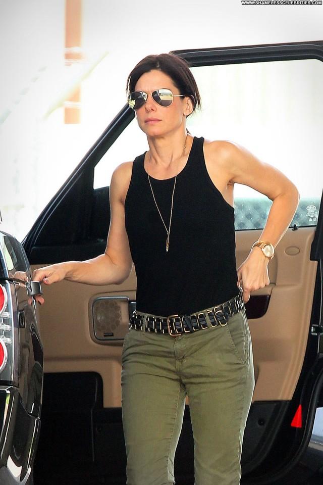 Sandra Bullock Shopping Beautiful Black Celebrity Posing Hot Shopping