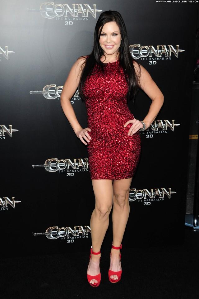 Christa Campbell Conan The Barbarian Celebrity Babe Beautiful Posing