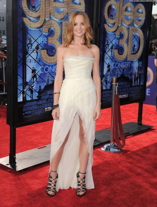 Jayma Mays Glee The  D Concert Movie Movie Posing Hot Beautiful