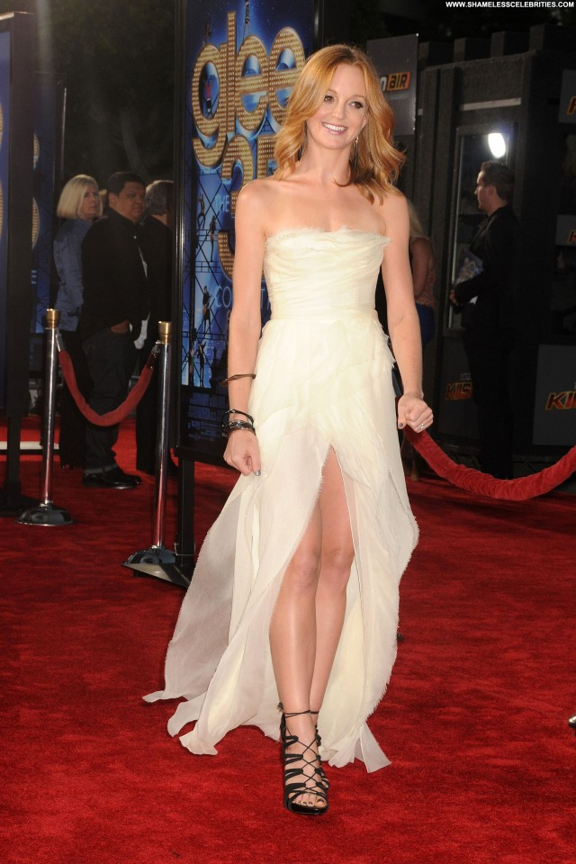 Jayma Mays Glee The  D Concert Movie Beautiful Babe Movie Posing Hot